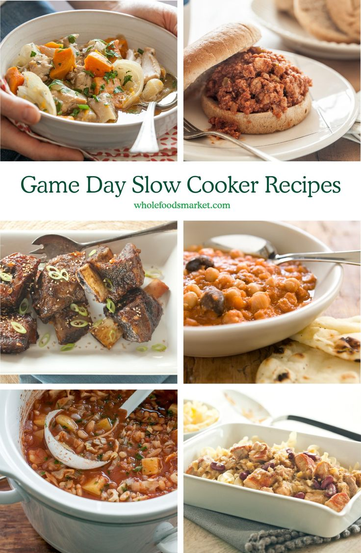 19 best healthy big game recipes images on pinterest Quick and healthy slow cooker recipes