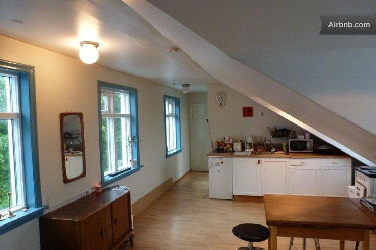 Studio with a view, reykjavik