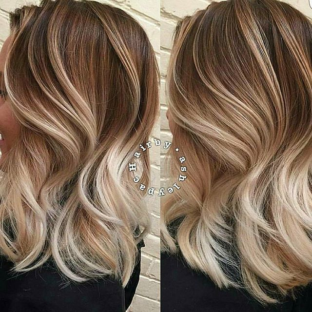 """FORMULA & HOW-TO now LIVE! Search ""Ombré Shadow"" at behindthechair.com!) A BIG THANKS to @hairby.ashleypac for sharing her color secrets w/ BTC members! #ombrehair #balayage #behindthechair #shadowroot"" Photo taken by @behindthechair_com on Instagram, pinned via the InstaPin iOS App! http://www.instapinapp.com (02/23/2016)"