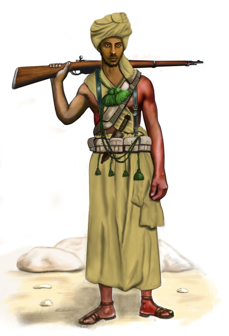 WW2 - 1940 East Africa - Somali Dubat Jusbasci by AndreaSilva60 on DeviantArt