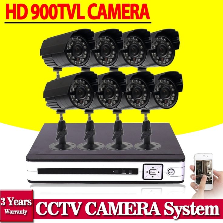 194.91$  Watch now - http://aliidi.worldwells.pw/go.php?t=32757630310 - Home video surveillance system CCTV camera system 8ch cctv ahd dvr system 900tvl camera set HDMI 1080p usb 3G wifi p2p cms view 194.91$