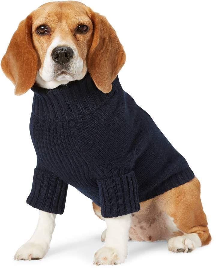 Beagles Ralph Lauren Flag Wool Cashmere Dog Sweater Dog Sweater