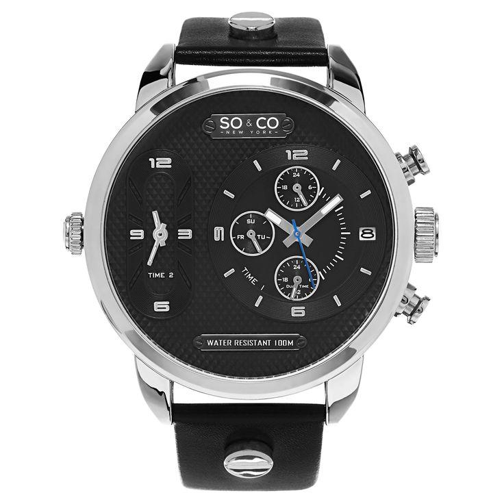 So&co Men's New York SoHo Quartz Strap Watch