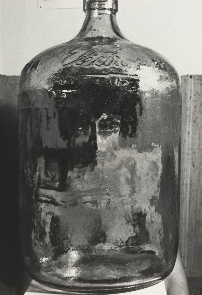 Kati Horna (Mexican, 1912–2000). Bottle, 1962. De la serie Paraísos Artificiales