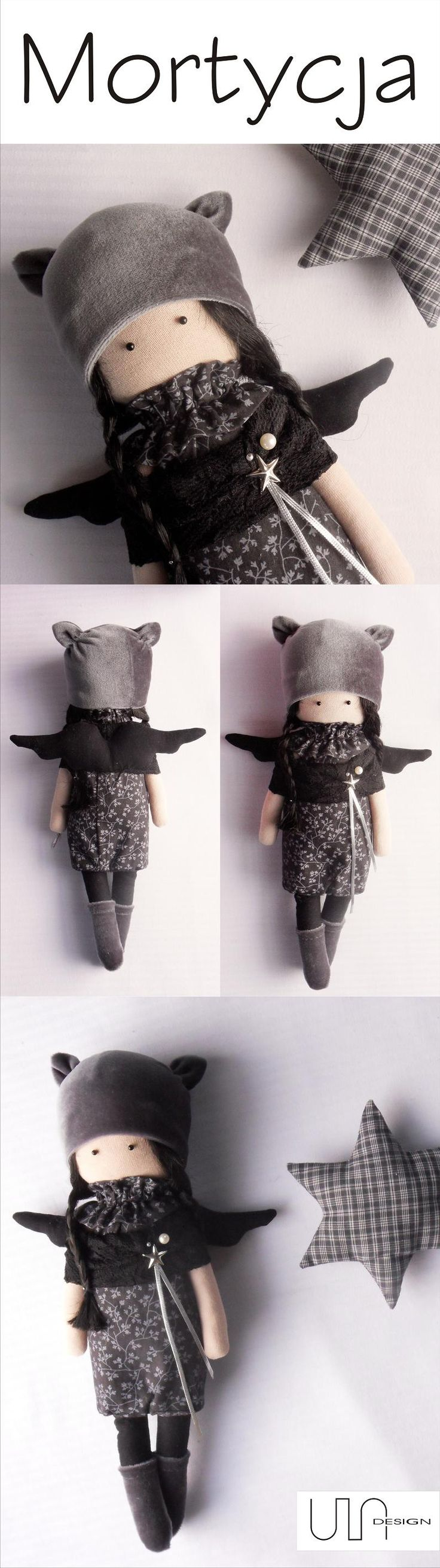 www.facebook.com/ula.design #angels #tilda #doll #wings #withangels #gift #handmade #sewing