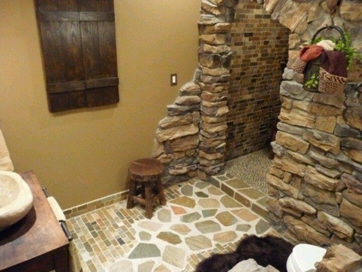 cave shower no door necessary designs pinterest