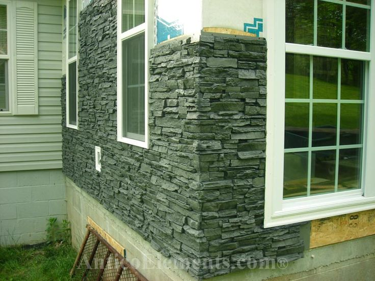 Best 20 faux stone siding ideas on pinterest - Faux stacked stone interior walls ...