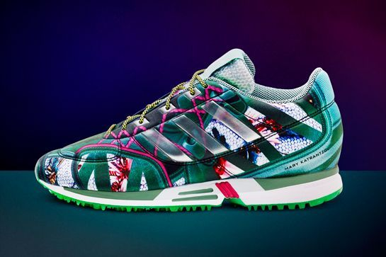 Photo: Courtesy of adidas. #refinery29 http://www.refinery29.com/2014/10/76581/adidas-mary-katrantzou-collaboration-images#slide-4