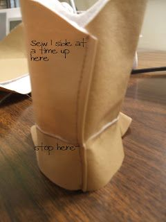 Baby Cowboy Boots Pattern & Tutorial - Peek-a-Boo Pages - Sew Something Special
