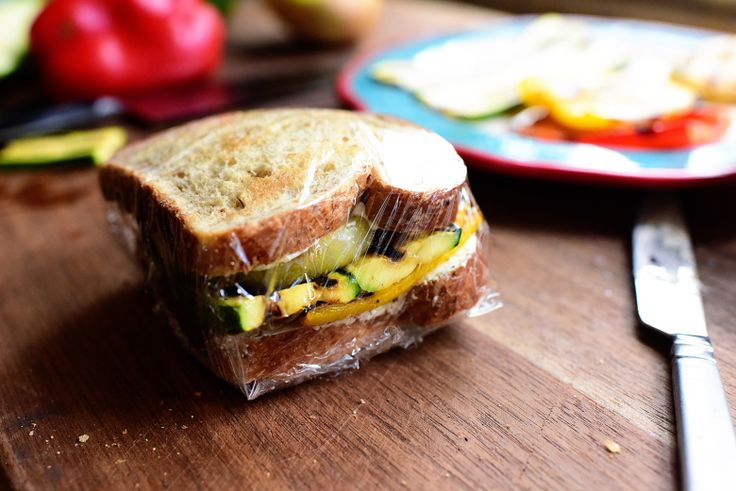 Grilled Veggie and Cream Cheese Sandwich (To-Go!)   The Pioneer Woman