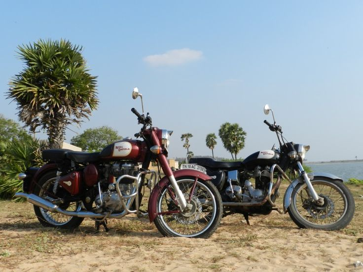 Royal Enfield Classic 350 and a '02 Bullet Electra!