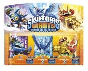 Skylanders Triple Pack A - laajennus (kolme hahmoa paketissa)