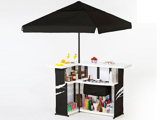 26 best images about portable bar on pinterest carry bag tailgating and bar - Bar canopy designs ...