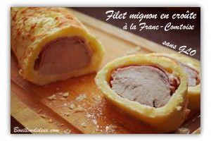 filet mignon - rôti de porc en croûte à la franc-comtoise sans GLO (gluten, lait, oeuf