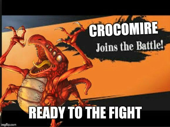 Crocomire In Smash Gets End In The Lava Floor Crocomire Metroidmemes Supersmashbrosultimatememes Thesmashcommunity Metroid3 Metroid Samus Aran Memes