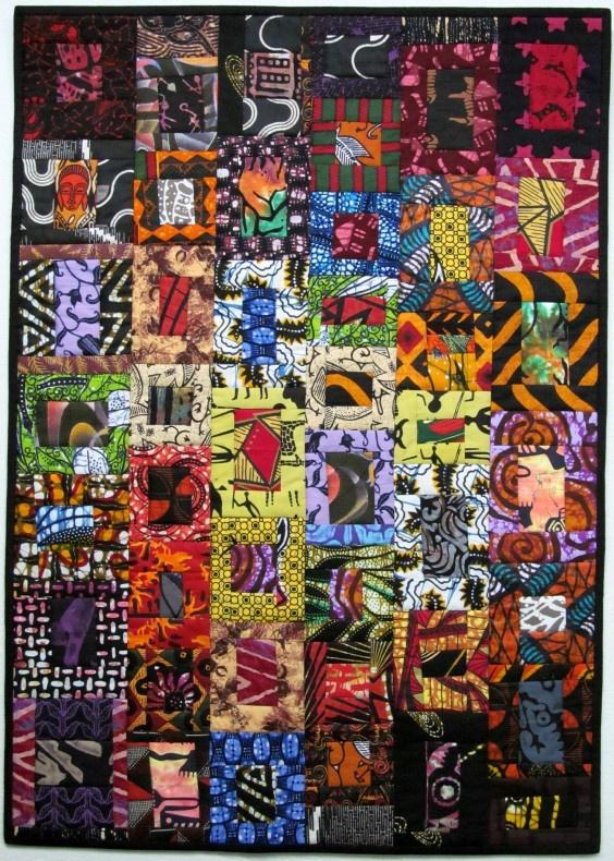 De 25 Bedste Id 233 Er Inden For African Quilts Du Vil Synes