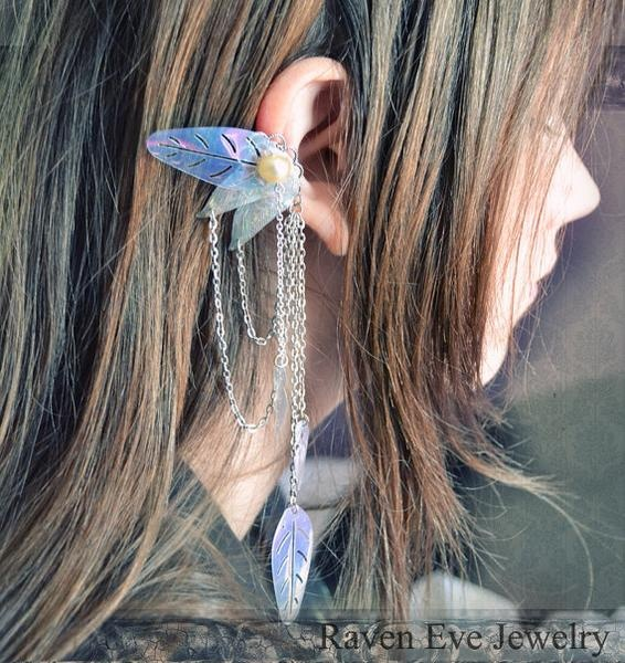 I found 'Enchanted Fairy Ear No Pierce Cuff' on Wish, check it out!