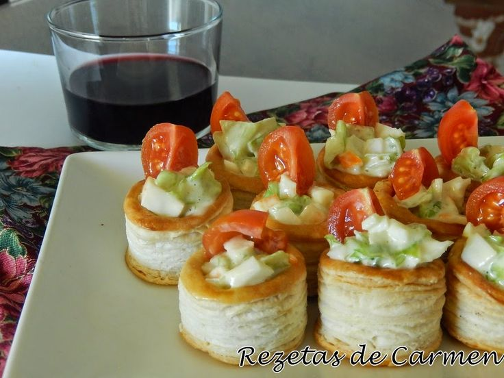 17 best images about pinchos y tapas on pinterest food for Recetas para canape