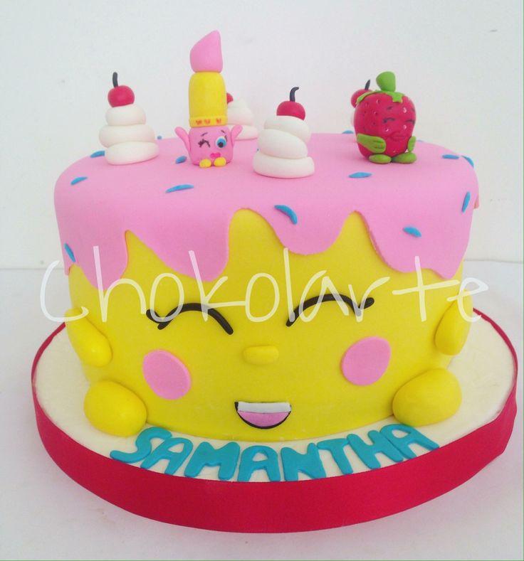 Torta Shopkins Tortas temáticas Cali  Pedidos 318-502-2822