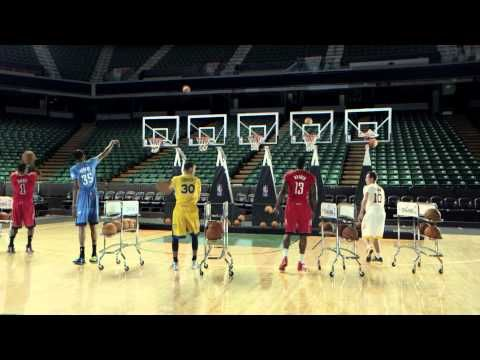 ▶ NBA players shoot threes to the tune of Jingle Bells | Jingle Hoops - YouTube