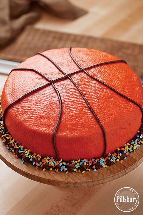 All-Star Basketball Cake from Pillsbury™ Baking