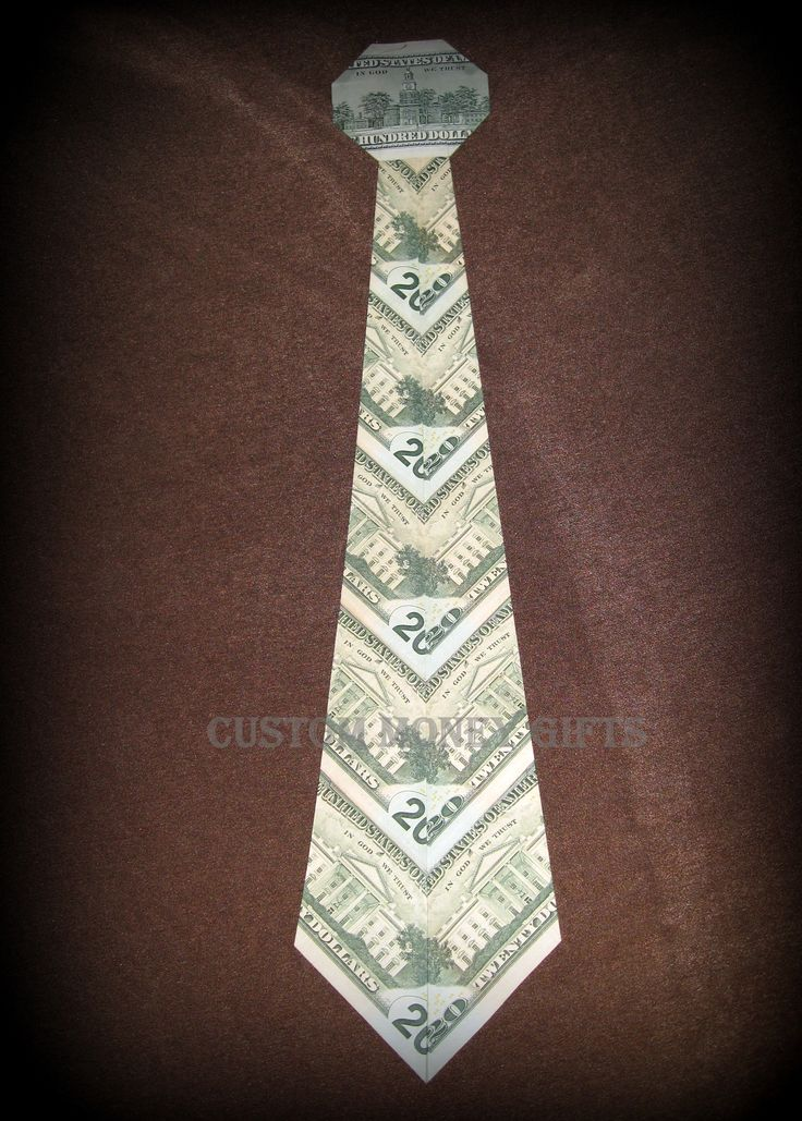 Money Tie is a unique gift for your father, husband, brother friend etc on Father's day. Available upon request with any denomination of Bills. Make your selection. (818)903-2202