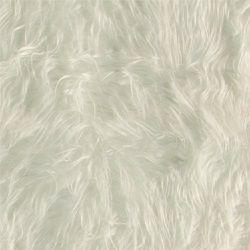 Pels langhåret hvit
