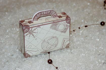 Comment Decorer Une Valise En Carton