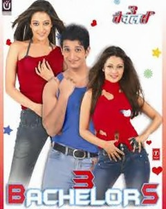 3 Bachelors Watch Online / Download Free Latest Hindi Movie | Urdu Movies  Amit ( Sharman Joshi) and Jai (Manish Nagpal) fall for Neha ( Raima Sen) and Nisha ( Riya Sen). But before they can settle down in marriage there is a whole lot of confusion that needs to be tackled first.  We know the release of 3 Bachelors has been stuck up for some ten odd years now. So naturally expectations are not high. Rightly so, for everything - just everything - seems stale in here.