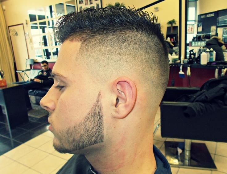 Skin Fade + Lined Up Beard | Hair Cuts | Pinterest