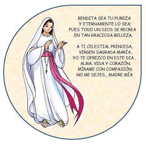 l tambin llor: Tarjetas con mensajes de la Virgen Mara