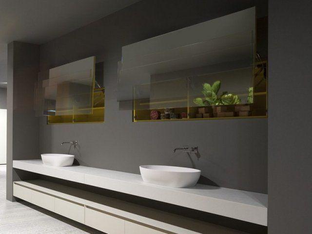 ... de bains - 30 idées magnifiques  Design, Armoires and Interieur
