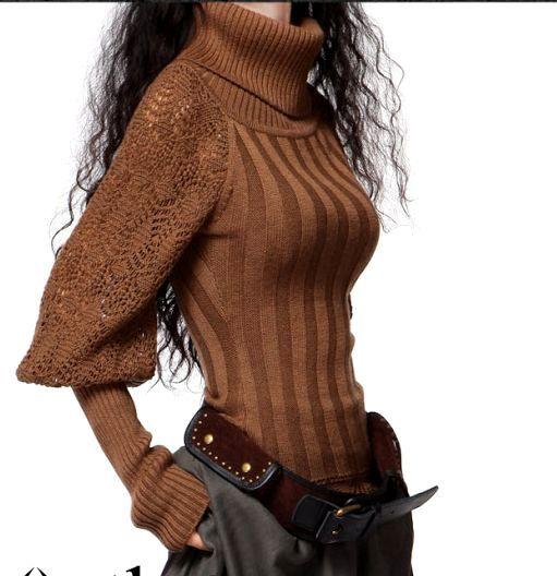 Кружевная проказница - свитер спицами от китайского модельера Artka. Обсуждение на LiveInternet - Российский Сервис Онлайн-Дневников