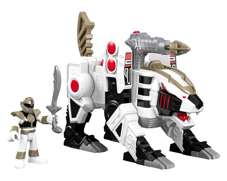 110 best cool toys images on pinterest cool toys power rangers power rangers mighty morphin imaginext white ranger tigerzord figure set voltagebd Choice Image