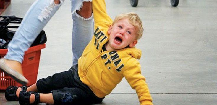 Accesele de furie ale copilului: reglarea de sus în jos
