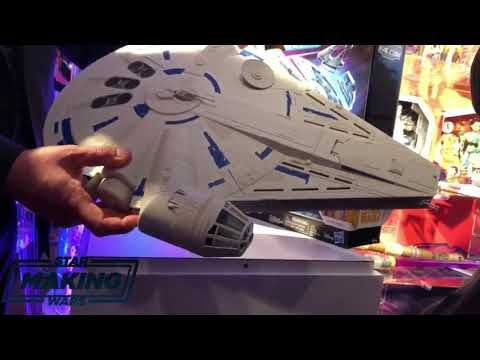 Take a look at the Hasbro Solo: A Star Wars Story Millennium Falcon! | Making Star Wars
