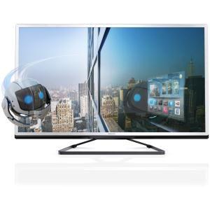 PHILIPS - 40PFL4528H _ Ecran LED Edge 3D Max 102 cm à technologie active - Résolution 1920 x 1080 pixels - Micro-Dimming - Traitement de l'image Pixel Plus HD Engine - Convertisseur 2D -> 3D - Réglage de la profondeur 3D - Technologie 200 Hz Perfect Motion Rate - Smart TV : un monde de divertissement en ligne (Navigateur Internet, Applications, VOD & Catch up et réseaux sociaux) -