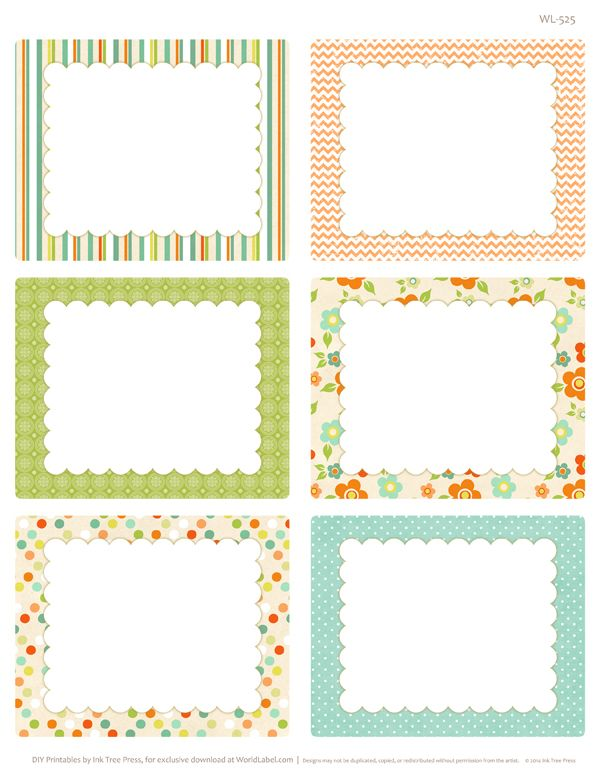 FREE SPRING HAS SPRUNG EASTER PRINTABLE LABELS FROM WORLDLABEL