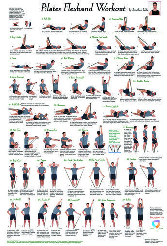 Pilates Flexband Workout Poster – Irene UM
