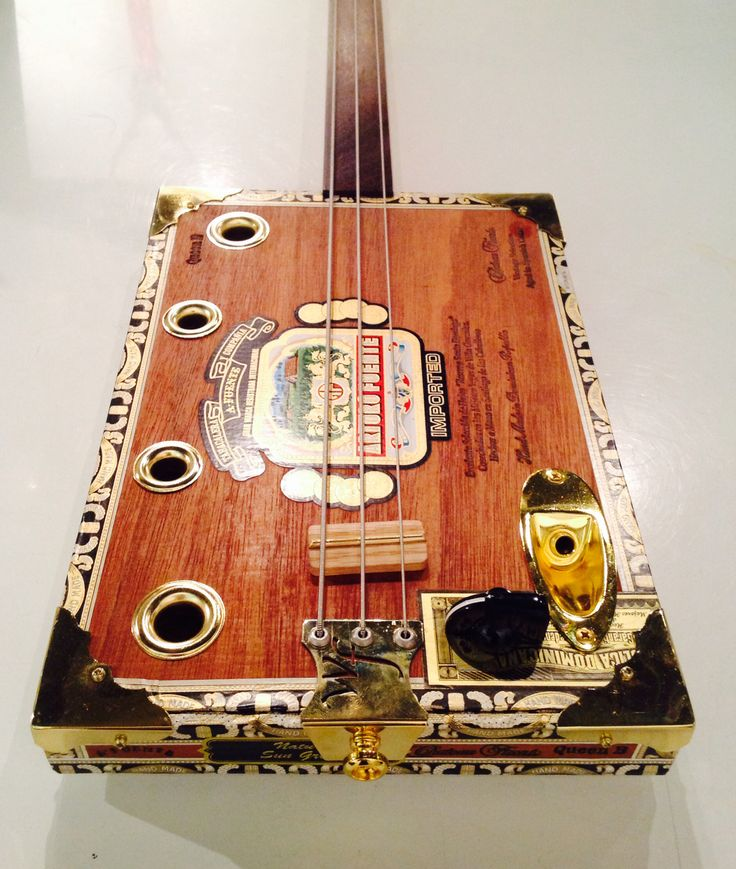 Mark Kost normally builds four string guitars but hereu0027s a nice surprise notice the three string base! This beauty is cigar box guitar & 230 best Cigar box guitar images on Pinterest | Cigar boxes Cigar ... Aboutintivar.Com