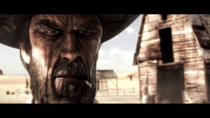 Little Tombstone. In a small town in the Far-West, the Good and the Bad, challenge each other to show-down.