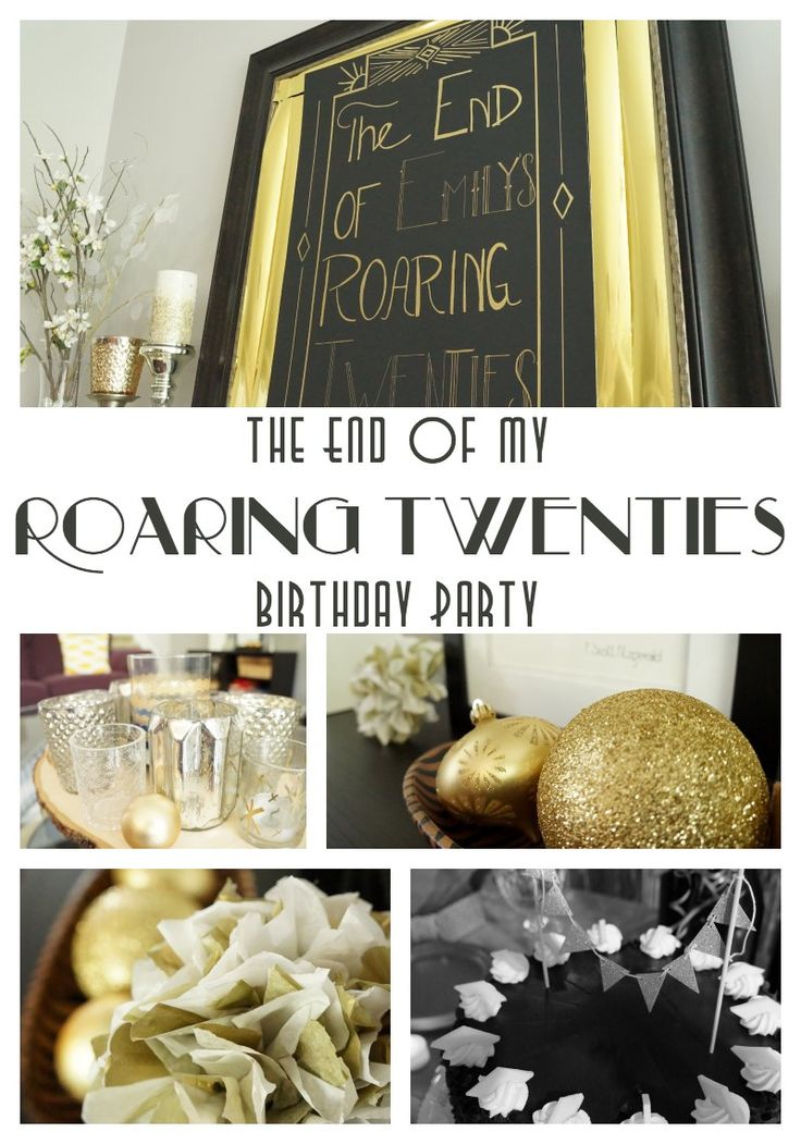 It's the End of my Roaring Twenties! Also known as my 30th birthday. So I'm throwing a virtual birthday party at Two Purple Couches.