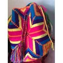Bolsa Colombiana Wayuu Original ! Top Do Verão