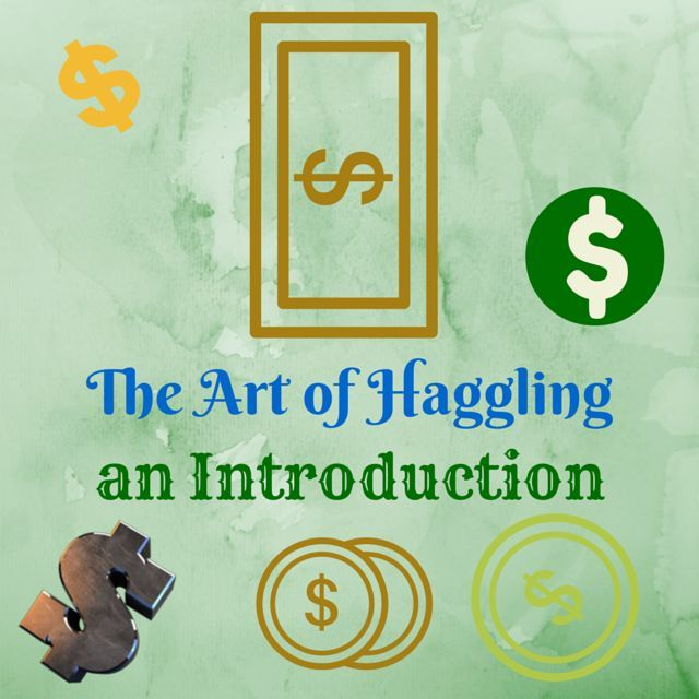 The art of haggling an introduction the rural economist