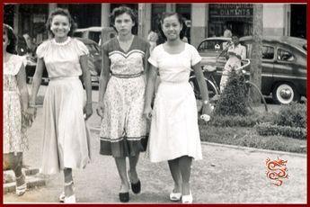 Femmes rue Catinat Saigon