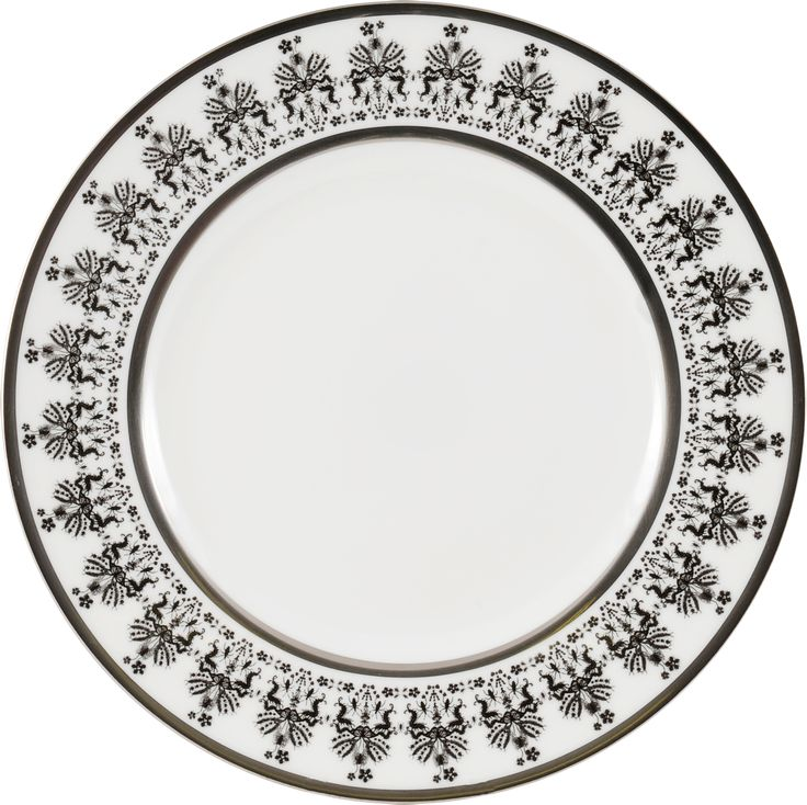 """8"""" Breakfast Plate taken from the interesting 'Entomo' Black range – a beautiful rimmed plate with patterned details. Designed by Monica Tsang, this collection presents an array of some of the most important yet often misunderstood creatures on our planet. From gossamer wings of the butterfly to the architectural magnificence of the stag beetle, together a pattern of wonderment and delight. Handwash Only. Hand gilded platinum rim. Available in Black and Platinum. Made in Stoke-on-Trent…"""