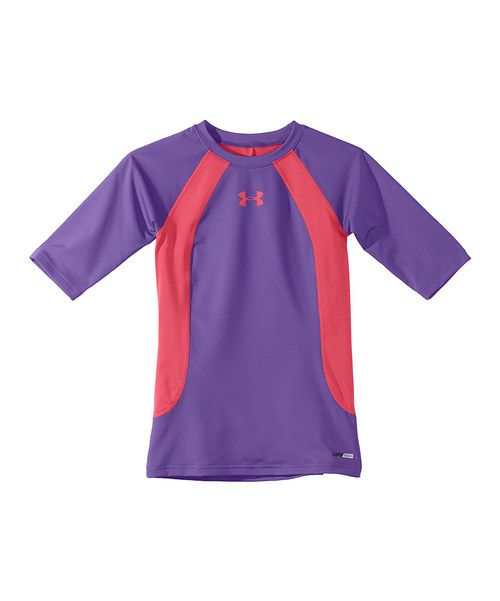 Take a look at the Lavish HeatGear® Ripping Tee - Girls on #zulily today!
