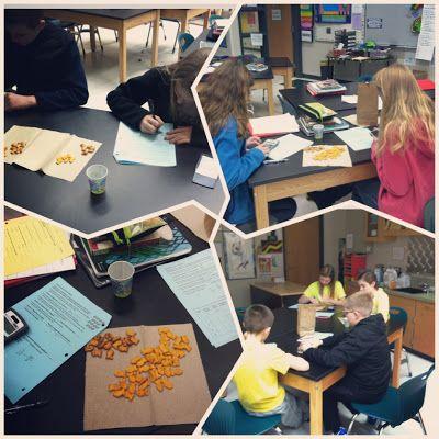 Ms. Milleson's 7th Grade Blog: Capture/Recapture - Proportions Math Activity