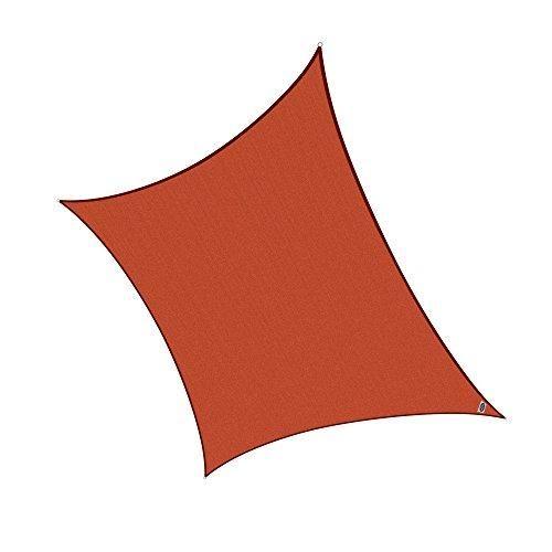 Oferta: 59.95€ Dto: -50%. Comprar Ofertas de Cool Area Toldo vela cuadrado 4 x 4 metros protección UV Impermeable, Color tierra barato. ¡Mira las ofertas!