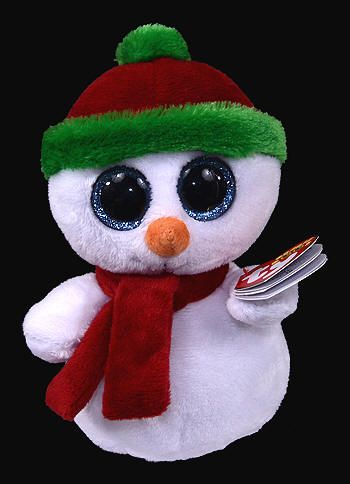 Scoops (2013 redesign) - snowman - Ty Beanie Boos